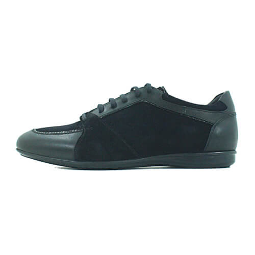 CAB07BLK Cabrini Shoes Lace up Black Suede cabrini shoes - Cabrini Shoes Casual Black Suede