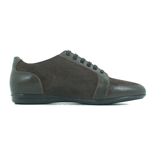 Cabrini Shoes Lace up Casual Brown Side