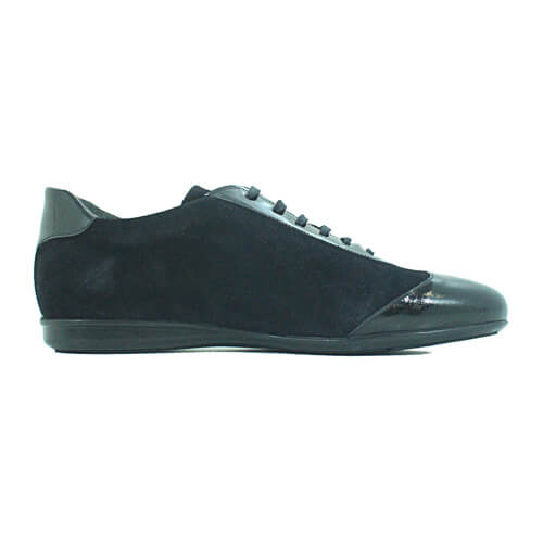 Cabrini Shoes Lace up Casual Black Right