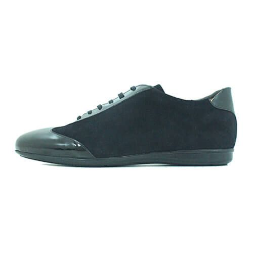 CAB08BLK Cabrini Shoes Lace up Casual Black cabrini shoes - Cabrini Shoes Lace up Casual Black