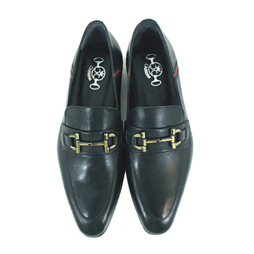 Cabrini Shoes Formal Leather Black Top