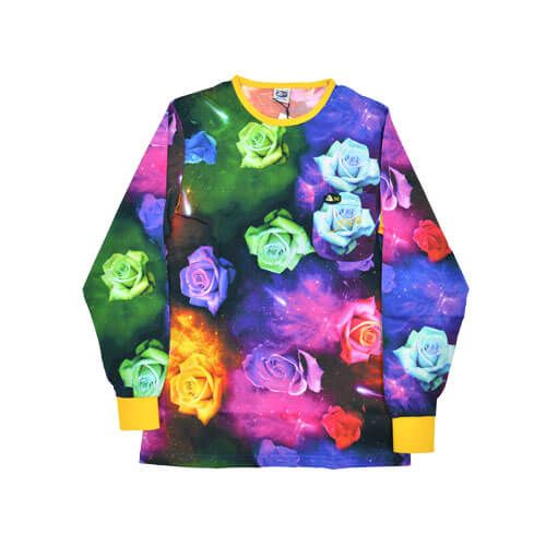 DMD Signature Range Shirt Galaxy Roses Print dmd signature range - DMD Signature Range Galaxy Rose Shirt