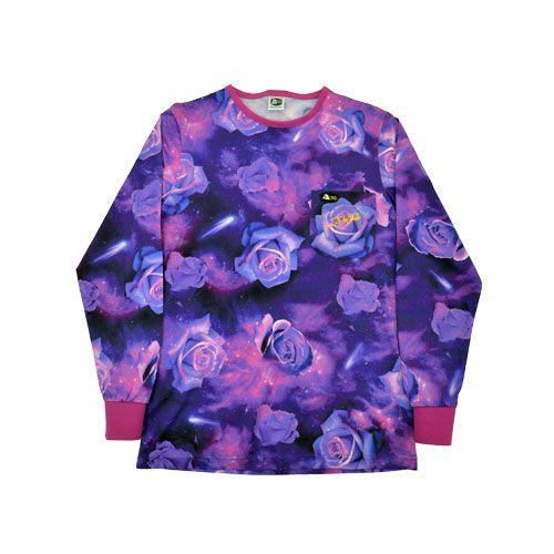dmd signature range shirt purple rose - DMD Signature Range Shirt Purple Rose