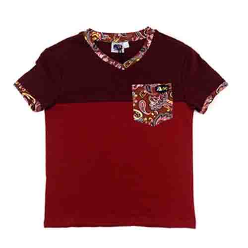 DMD Muracchini Linea Italiana South Africa dmd boys short sleeve spandex tshirt burgandy - DMD Boys Short Sleeve Spandex Tshirt Burgandy