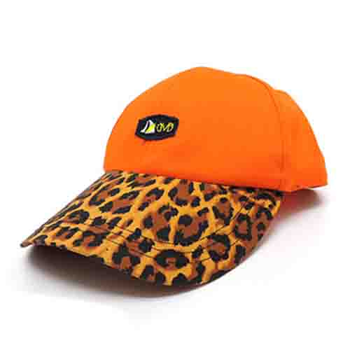 DMD Muracchini Linea Italiana South Africa dmd colab leopard print visor cap - DMD Colab Leopard print Visor Cap