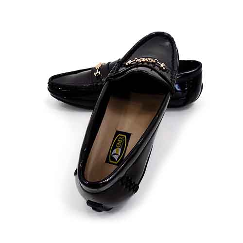 DMD Muracchini Linea Italiana South Africa dmd hi shine driver shoe black - DMD Hi Shine Driver Shoe Black