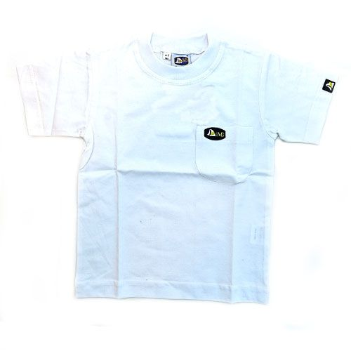DMD Muracchini Linea Italiana South Africa dmd plain white kids short sleeve t shirt - DMD Plain White Kids Short Sleeve T Shirt