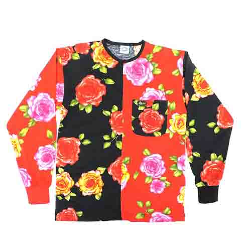 DMD Muracchini Linea Italiana South Africa dmd muracchini - DMD LS Full Regular Rose Black with Red Sleeve - DMD L/S Full Regular Rose Black with Red Sleeve DMD Muracchini