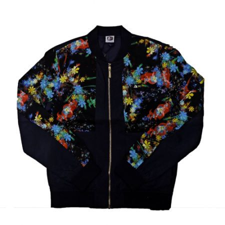 DMD Muracchini Linea Italiana South Africa dmd muracchini - DMD Mens L/S Zip-through Jacket Floral Print DMD Muracchini