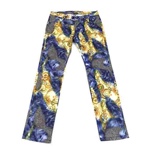 DMD Muracchini Linea Italiana South Africa dmd mens slim fit paisly print navy - DMD Mens Slim Fit Paisly Print Navy Pants