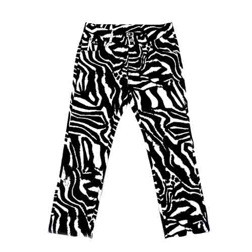 DMD Muracchini Linea Italiana South Africa dmd mens stretch zebra print chino pants - DMD Mens Stretch Zebra Print Chino Pants