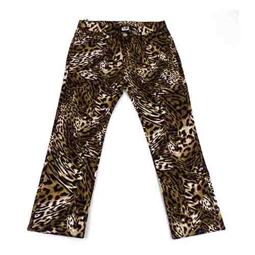 DMD Muracchini Linea Italiana South Africa dmd mens stretch leopard print chino pants - DMD Mens Stretch Leopard Print Chino Pants