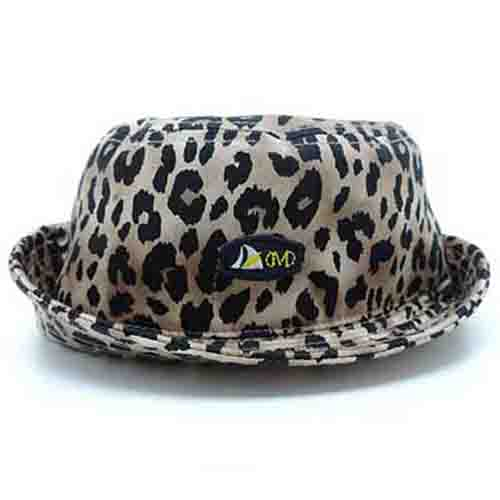 DMD Muracchini Linea Italiana South Africa leopard print - DMD Sporty Bucket Hat with Badge Leopard Print