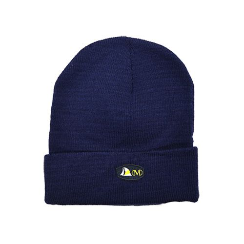 DMD Muracchini Linea Italiana South Africa dmd beanie navy blue plain with badge - DMD Beanie Navy Blue Plain with Badge