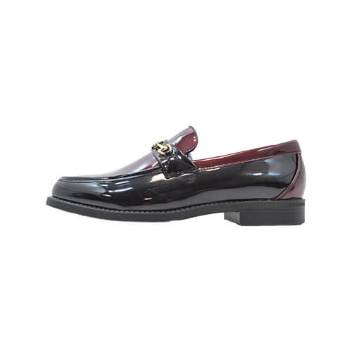 DMDD133BBM DMD Shoes Venice 4 Burgundy and Black Metallic Left dmd shoes venice 4 burgundy and black - DMD Shoes Venice 4 Burgundy and Black