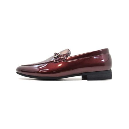 dmd shoes portofino 1 burgundy metallic patent - DMD Shoes Portofino 1 Burgundy Metallic Patent