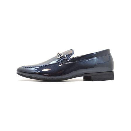 dmd shoes portofino 2 navy metallic patent - DMD Shoes Portofino 2 Navy Metallic Patent