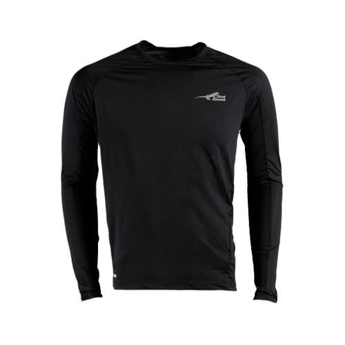 first ascent - First Ascent Corefit Long sleeve Top Black
