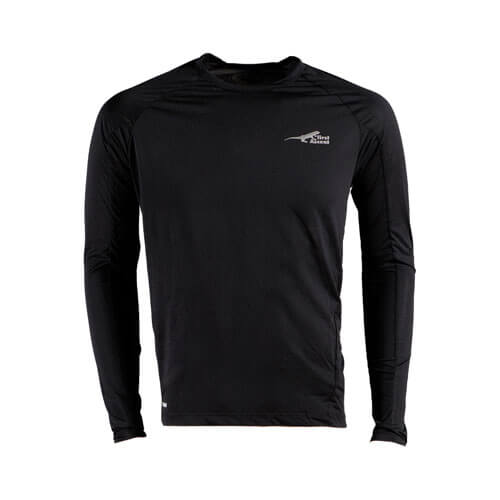 DMD Muracchini Linea Italiana South Africa first ascent - First Ascent Mens Corefit Long Sleeve Black DMD Muracchini