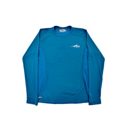 DMD Muracchini Linea Italiana South Africa first ascent corefit tshirt long sleeve blue - First Ascent Corefit Tshirt Long Sleeve Blue