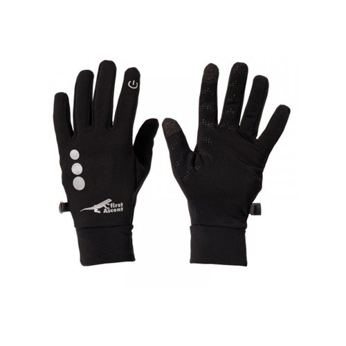 dmd first ascent tech touch ll gloves black - DMDFA02B Tech Touch 2 Gloves Black - DMD First Ascent Tech Touch ll Gloves Black