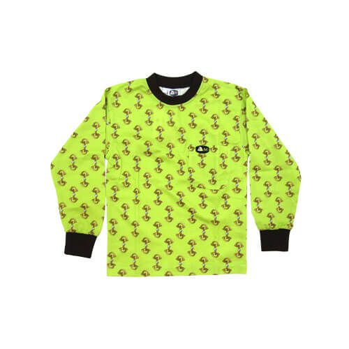 DMD Muracchini Linea Italiana South Africa dmd kids shirt lime and black stirrup print - DMD Kids Shirt Lime and Black Stirrup Print
