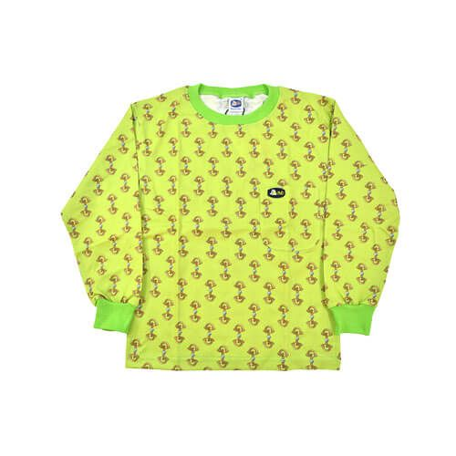 DMDKTS21LST DMD Kids Tshirts Lime Green Stirrup Print dmd kids shirt lime green stirrup print - DMD Kids Shirt Lime Green Stirrup Print