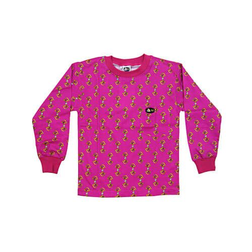 DMD Muracchini Linea Italiana South Africa dmd kids shirt pink stirrup print - DMD Kids Shirt Pink Stirrup Print