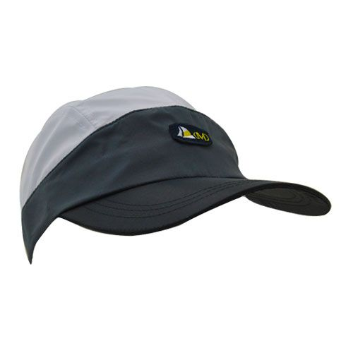 DMDNC01BW DMD Nylon Cap Two Tone Black and White Side dmd nylon cap black and white - DMD Nylon Cap Black and White