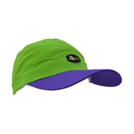 DMDNC01LP DMD Nylon Caps Two Tone Lime Purple Side e1526290674821