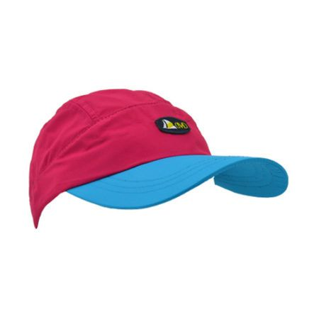 DMDNC01PT DMD Cap Nylon Two Tone Pink and Turquoise Side e1526290196830