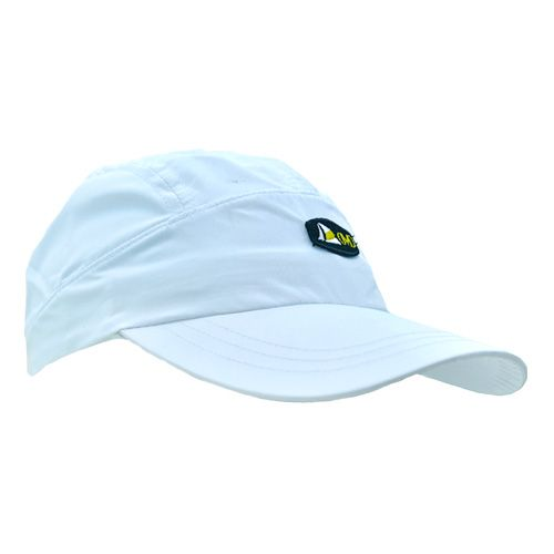 DMDNC01W DMD Cap Plain White Side dmd cap nylon plain white and badge - DMD Cap Nylon Plain White and Badge