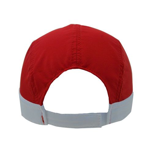 DMDNC02RWN DMD Nylon Cap Three Toned Red white Navy Back