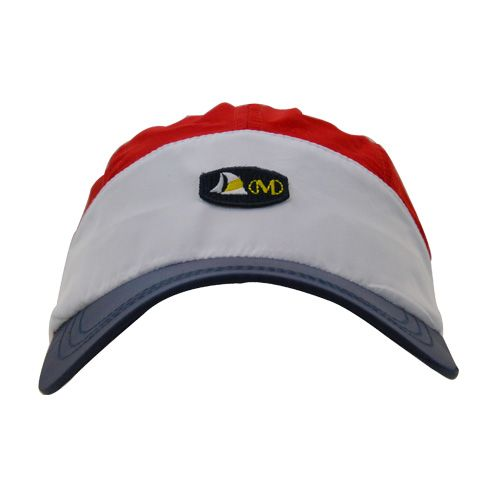 DMDNC02RWN DMD Nylon Cap Three Toned Red white Navy