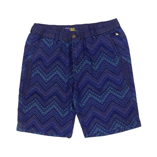 DMD Muracchini Short Blue Printed dmd shorts - DMD Shorts Blue Printed