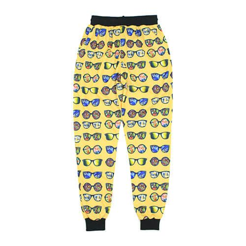 DMD Muracchini Summer Tracksuit Pants Sunglasses Yellow Back