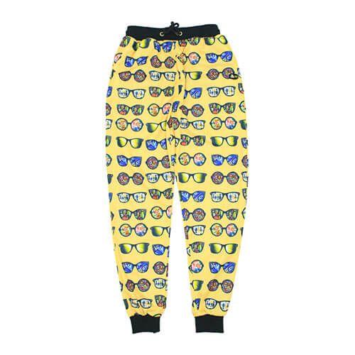 DMD Muracchini Summer Tracksuit Pants Sunglasses Yellow