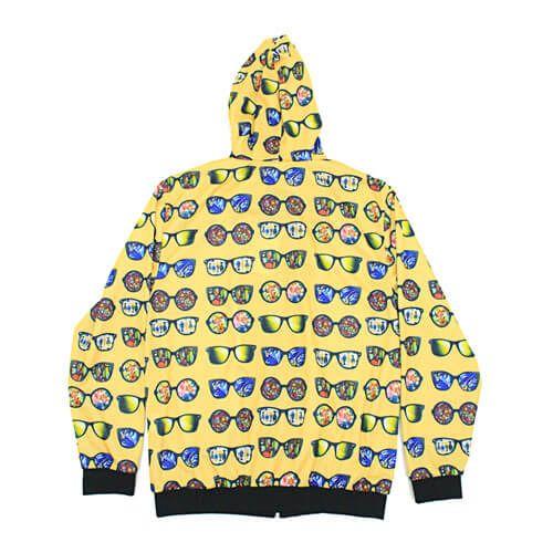 DMD Muracchini Summer Tracksuit Sunglasses Yellow Back