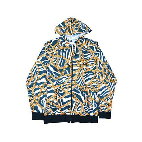 DMD Muracchini Linea Italiana South Africa dmd summer tracksuit - DMD Summer Tracksuit Zebra Chain Print