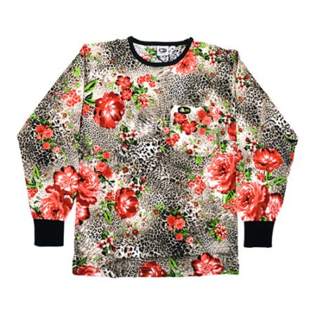 DMD Muracchini Linea Italiana South Africa dmd t-shirt - DMD T-Shirt Leopard and Rose Print