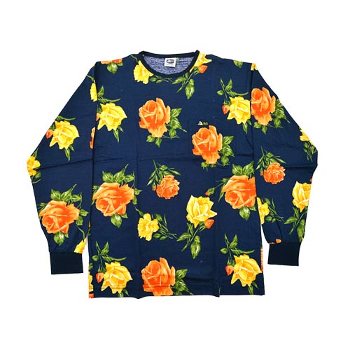 DMD Muracchini Linea Italiana South Africa dmd shirt roses print navy - DMDTS08NR Full Regular Navy Rose Shirt - DMD Shirt Roses Print Navy