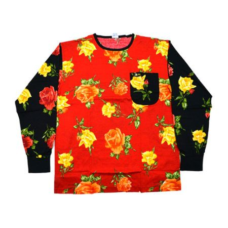 DMD Muracchini Linea Italiana South Africa dmd shirt red and black roses print - DMD Shirt Red and Black Roses Print