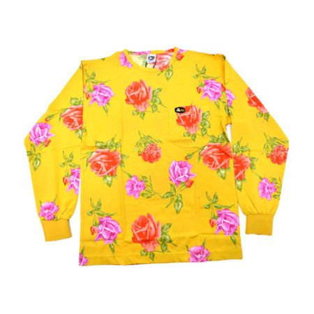 DMD Muracchini Linea Italiana South Africa dmd shirt full rose print yellow - DMD Shirt Full Rose Print Yellow