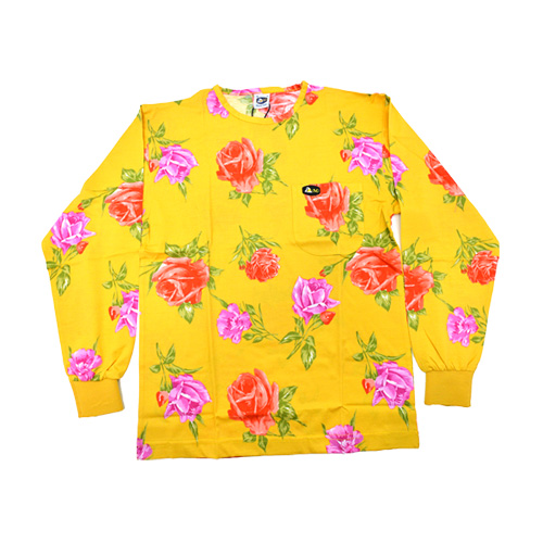 DMD Muracchini Linea Italiana South Africa dmd shirt full rose print yellow - DMDTS08YR Full Regular Yellow Rose Shirt - DMD Shirt Full Rose Print Yellow