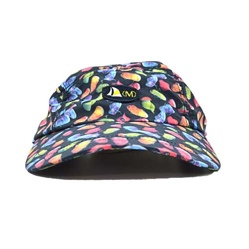 DMD Muracchini Linea Italiana South Africa mens printed nylon cap tekkie black - Mens Printed Nylon Cap Tekkie Black DMD Muracchini