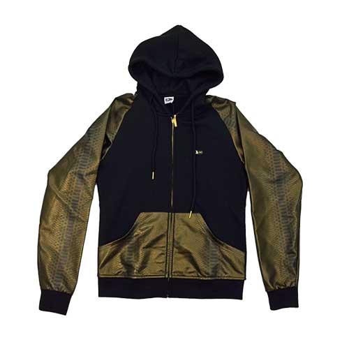 DMD Muracchini Linea Italiana South Africa long sleeve jacket zip through gold - DMDH004G Long Sleeve Jacket Zip Through Gold - Long Sleeve Jacket Zip Through Gold DMD Muracchini