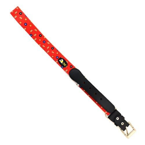 DMDBL10RD DMD BELT RED SNOOKER PRINT