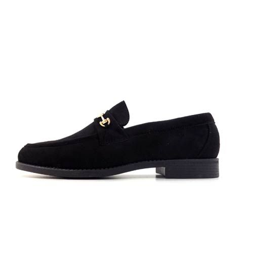 DMDD143BS---VENICE-3-BLACK-SUEDE dmd venice 3 high patent navy blue shoes - DMD Venice 3 Black Suede Shoes