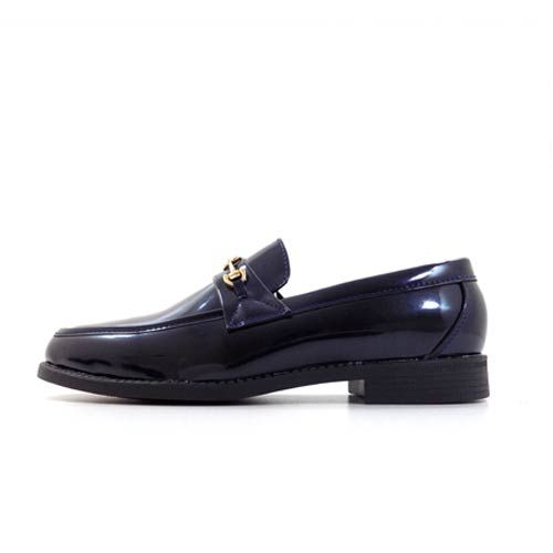 DMDD144NMP DMD VENICE 3 NAVY METALIC PATENT dmd venice - DMD Venice 3 High Patent Navy Blue Shoes