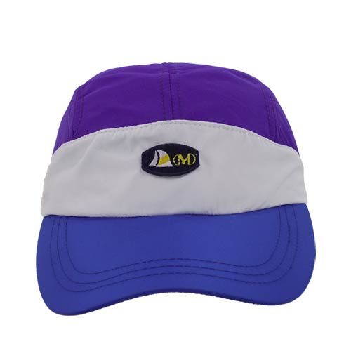 dmd cap nylon - DMD Cap Nylon Purple White and Blue Cap